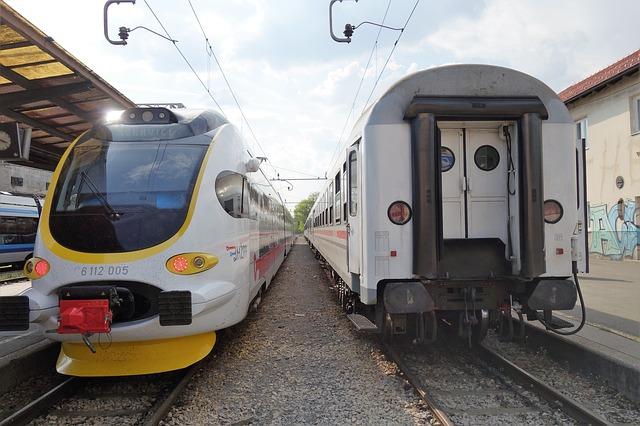 Cesta vlakem do Chorvatska je rychlá a pohodlná